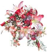 Ramo de Novia rosasy lilums
